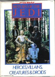 Star Wars ROTJ Giant Collectors Compendium UK 1983 VF