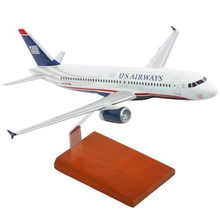 US Airways 1 100 Airbus A320 200 Desk Top Display Model Jet Aircraft