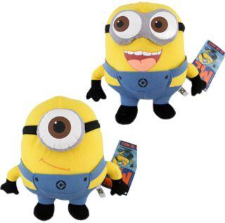Despicable Me Yellow GRU Minion Plush Toy 3D Soft Stuffed Jorge