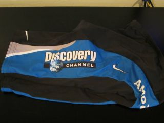 Nike Discovery Channel Team Cycling Shorts Trek Dri Fit