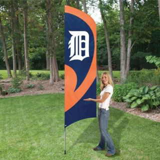 mlb team flag with pole detroit tigers proudly display your favorite