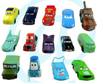 Disney Cars Lightning McQueen Mater Sally Ramone Mack Guido Luigi 14