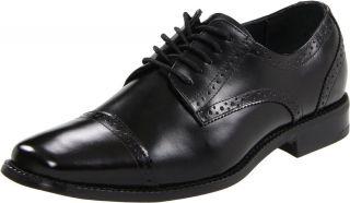 Stacy Adams Mens Delmont Black Leather Oxford Dress Shoe 20123