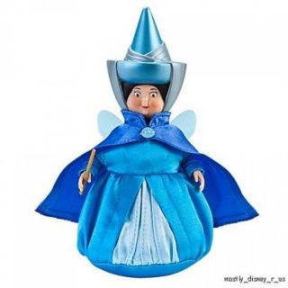 New Disney Store Sleeping Beauty Fairy Godmother Flora Fauna