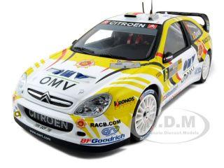 Citroen Xsara 6 WRC OMV Kronos 1 18 2007 Rally Deutch