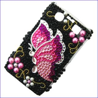 Bling Diamond Crystal Rhinestone Case Cover for Blackberry Bold 9700