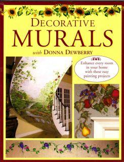 Donna Dewberry Decorative Murals Painting Acrylic Paint Design Trompe