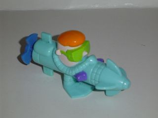 burger king dexters Laboratory toy sub scuba