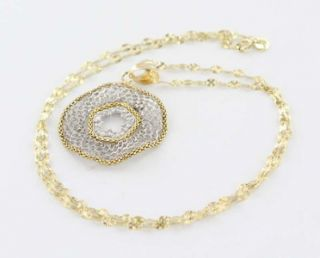 diamond circle pendant necklace overview offered for sale is a
