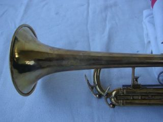 1960 KING SUPER 20 TRUMPET   STERLING LEAD PIPE   RARE DB MODEL   FREE