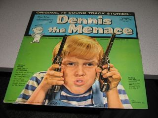 Dennis The Menace TV Show Soundtrack 33 RPM LP SEALED 1960 Jay North