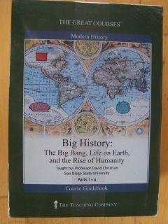 Teaching CompanyBig History The Big Bang, Life on Earth & Rise of