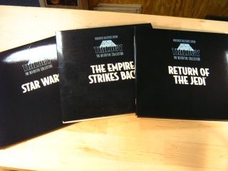 Star Wars Trilogy Laserdisc Definitive Collection Box Set w Hardcover
