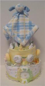 New Baby Shower Gift Diaper Cake Centerpiece Huggies