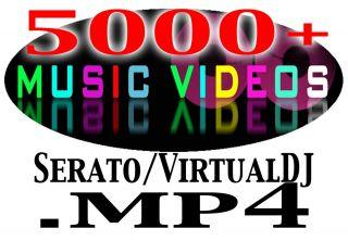 DJ Music Video Collection Hip Hop/Top40/Dance 5700+ MP4 Serato VJ
