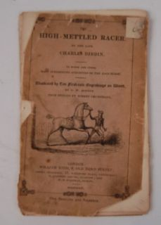 Theodore Roosevelt III High Mettled Racer Dibdin 1831