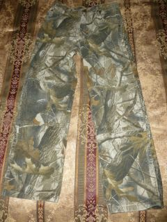 Real Tree Camo Hunting Pants Youth Size 14