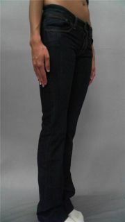 DL1961 Premium Denim Milano Misses 24 Stretch Indigo Boot Cut Jeans