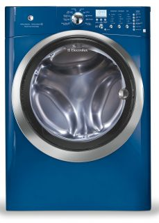 Electrolux Blue Scratch Dent Steam Washer Steam Electric Dryer