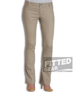 Dickies Girl Juniors Simple Pant KH Khaki Pocketless Working Uniform