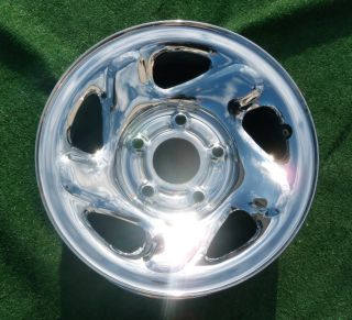 Dodge 1994 2001 RAM 1500 Chrome Steel Wheel 2039
