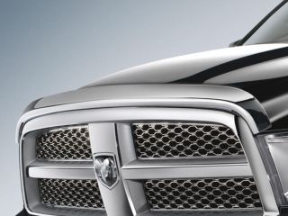 2009 2010 2011 2012 Dodge RAM 1500 Chrome Air Bug Deflector Mopar