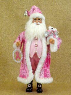Karen Didion Hope Santa Breast Cancer Awarness CC 16 73 Christmas