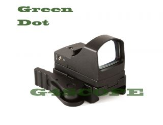 NEW Mini Docter Style Green Dot Holo Sight with QD mount Cover