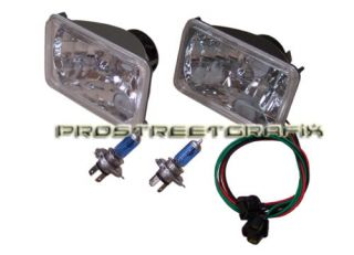 87 88 Dodge Shadow Euro Clear Xenon Headlight Kit