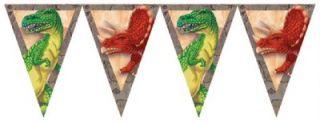 Diggin for Dinos 45 cm Dinosaur Happy Birthday Foil Balloon