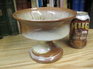 Pottery F52 Pedestal Vase Planter Center Peice Desert Gold