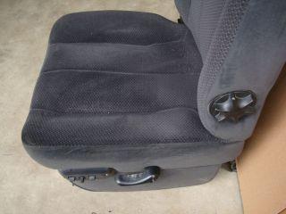02 08 DODGE RAM DRIVER POWER SEAT TRACK W/ MOTORS & SWITCH HEMI 05
