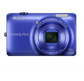 NIKON Coolpix S6300 Digital Camera BLUE + NIKON USA WARRANTY