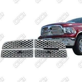 2009 2010 2011 Dodge RAM Chrome Grille Insert Overlay