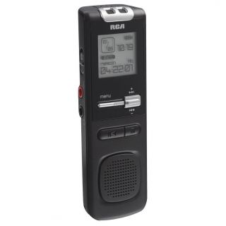 RCA VR5320 400 Hours 1GB Built in USB Digital Voice Recorder VR5320R 1