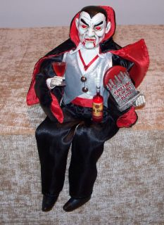Doll LG GOBLET SNACK DISH Karen Didion GrandinRoad Halloween New NIB