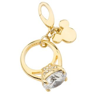 your charm bracelet with this Create Your Own Mickey Mouse Ring Charm