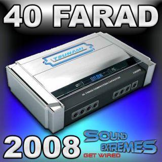 Tsunami 40 Farad Digital Car Audio Capacitor Hcap 40
