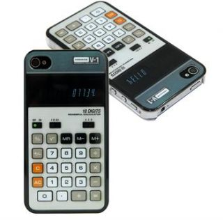 Fashion Calculator Design Hard Protector Cover Case Skin for iPhone 4G