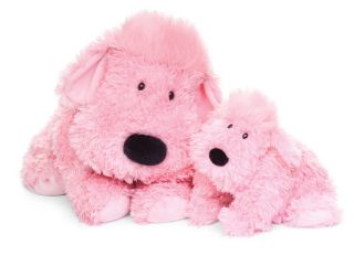 Jellycat Truffle Pink Dog Large   Stuffed Animal Plush