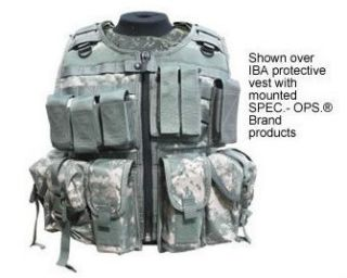 Spec Ops Over Armor Load Bearing Vest in ACU Camo   LBE, MOLLE