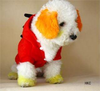 Christmas Dinosaur shirt Hoodie Tee dog pet clothes Apparel