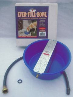 Ever Full Bowl Outdoor Automatic Dog Cat Waterer New