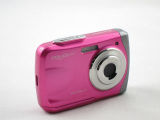 Aquapix 16MP Max Underwater Digital Camera Waterproof LOMO Effect Pink