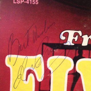 Elvis Presley Autographed Album Authenticated Signature