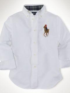 Polo Ralph Lauren Big Color Pony Blake Oxford 6 5 5T Kids Boys Casual