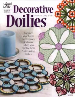 Decorative Doilies Book plastic canvas patterns Annies Attic
