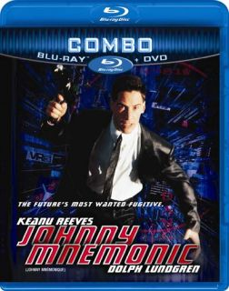 Johnny Mnemonic Blu Ray DVD Combo Blu Ray New BL