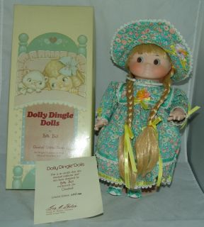Dolly Dingle Musical Doll by Bette Ball Made Exclusively for Goebel