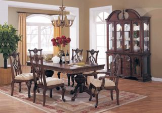 KOK Mahogany Sheraton 8 pc Dining Room Set A4540